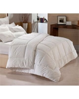 Winter supreme fiber quilt plain white shell - Comfort