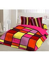 Winter supreme fiber quilt Colors design Orange - Comfort