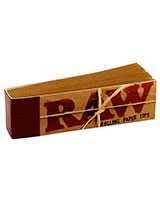 Rolling Papers 50 Tips / booklet - Raw