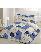Winter supreme fiber quilt Retro design - Comfort