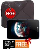 A3500 3G Tablet - Lenovo + Free Sleeve & Micro SD Card 8GB