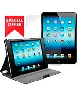Leather Protective Case for iPad mini with Retina Display / iPad mini + Free Mini Ipad Screen protector - Dausen