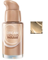 Dream Liquid Mousse Airbrush Finish Foundation 30ml Light 3 Natural Ivory - Maybelline