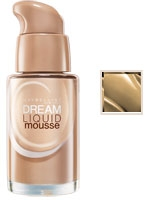 Dream Liquid Mousse Airbrush Finish Foundation 30ml Light 3.5 Nude Beige - Maybelline