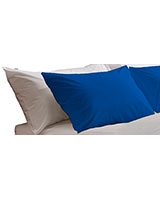 Fashion pillowcase 144 TC Royal blue color - Comfort