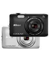 Compact Digital Camera 20.1 Megapixels S3600 - Nikon