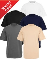 Basic T-Shirt Package of 5 colors