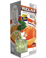 Air Freshener Relax orange and flowers - Power Air
