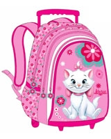 MLFL-2004 مقاس 18 بوصة رقم Marie The Cat Fresh Look  شنطة مدرسية ترولى