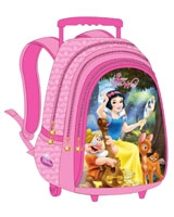 PMM-2004 مقاس 18 بوصة رقم Princess Magic Mirror  شنطة مدرسية ترولى