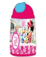 زمزمية بلاستيك 500 مم Minnie Lovely Day Canteen Plastic رقم MIBF171