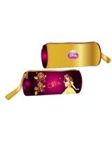 مقلمة قماش بسوستة اسطوانية Princess Golden Princess رقم PGP723