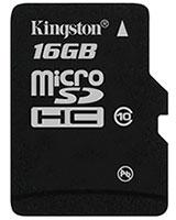 Micro SDHC Card 16 GB Class 10 SDC1016GB - Kingston