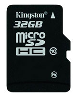 Micro SDHC Card 32 GB Class 10 SDC1032GB - Kingston