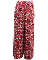 Floral Flare Leg SK401 Multicolor Red - Giro