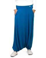 Plain Skirt Pants Blue - Nas
