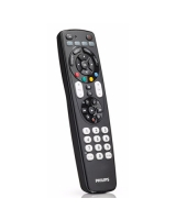 Universal remote control 4 in 1 SRP4004 - Philips