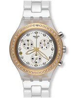 Full-Blooded Marvelous Yellow Ladies' Watch SVCK4068AG - Swatch