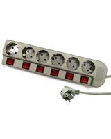 Power Strip 6 Outputs GA-PS 6 - Gamma