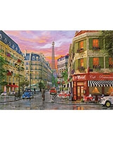 Puzzle 1000 Rue Paris - KS Games