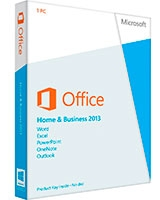 Office Home & Business 2013 32-bit/x64 English DVD - Microsoft