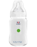 Feeding Bottle Free Flow Nipple 210 ml TC5002-2 - TOTcare