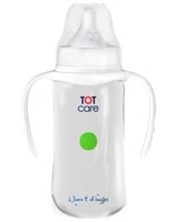 Feeding Bottle Free Flow Nipple With Hands 300 ml TC5003-2 - TOTcare