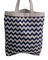 Zigzag tote canvas bag - Ultimate