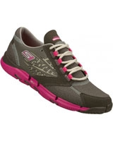 Sneakers Charcoal/Hot pink 13553-CCHP - Skechers