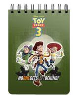 Toy Story 3 بلوك نوت سلك 40 ورقة مقاس A5