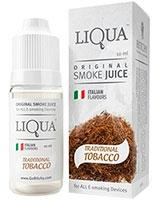 E-Cigarette Liquid Traditional tobacco flavor 10ml - Liqua