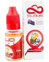 E-Cigarette Liquid Tropical Pinacoloda 15ml - Cloud Vapour