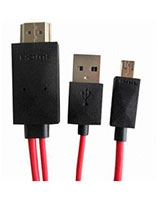 Micro USB HDMI Cable Adapter HDTV for Samsung Galaxy