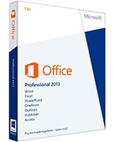 Office Professional 2013 32-bit/x64 English DVD - Microsoft