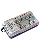 Battery Charger 4 AA/AAA & 2 - 9V. - Vanson