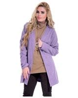 Plain Jacket Light Purple - Guzel