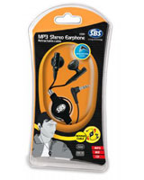 Stereo and Retractable MP3 Headset V591K - SBS