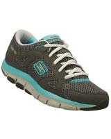 Shape Ups Liv Sneakers Gray/Blue 12470-CCAQ - Skechers