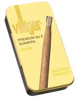 Premium No.6 Sumatra 10 Cigars - Villiger