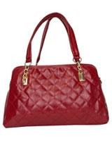 Quilted Shoulder Bag Red - Walkies