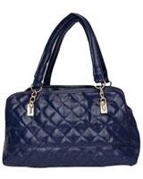 Quilted Shoulder Bag NAVY - Walkies