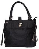 Duo Tone Handbag Black - Walkies