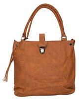 Duo Tone Handbag Camel - Walkies