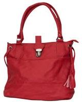 Duo Tone Handbag Red - Walkies