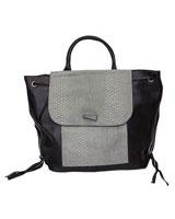 Structured Handbag Grey - Walkies