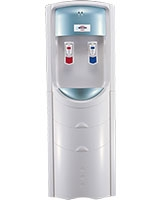 2 Taps Hot & Cold with safety Lock Water Dispenser WD-2208-LA White Blue - Bergen