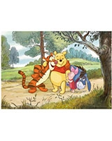Winnie the Pooh Floor Puzzle 20 Pieces - KS Games