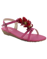 Ankle Strap Open Toe Pink - Walkies