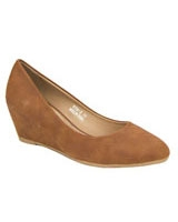Basic Platform Pumps Camel - Walkies