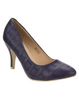 Basic Platform Pumps Blue - Walkies